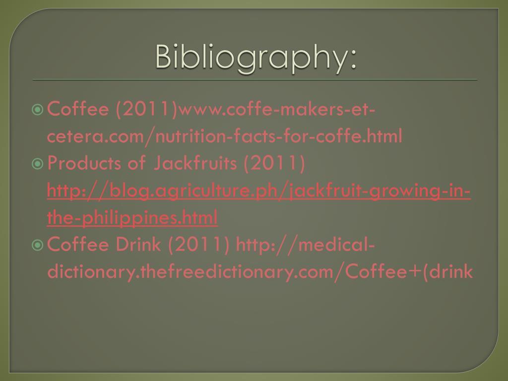PPT - UTILIZATION OF JACKFRUIT SEEDS INTO COFFEE PowerPoint