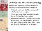 conflict and misunderstanding1