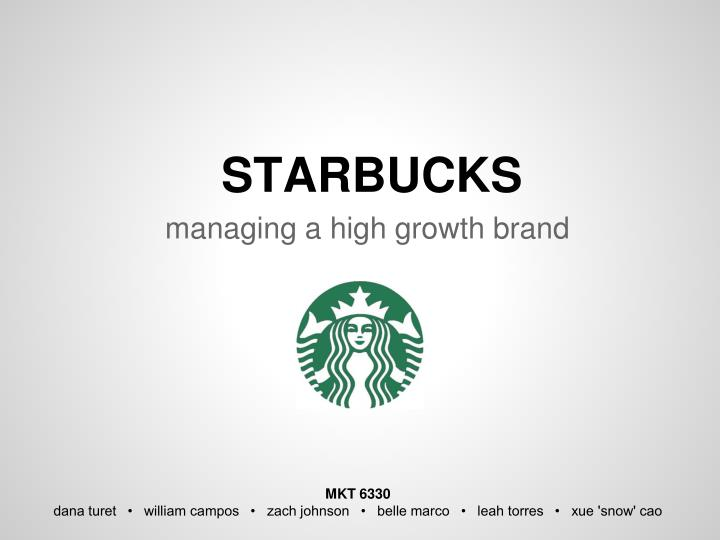 starbucks growth strategy Kevin johnson, starbucks corp chief executive officer, discusses the need for innovation in the tech and coffee industries, the company's growth strategy and opportunities in china with bloomberg's.