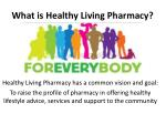 what is healthy living pharmacy2