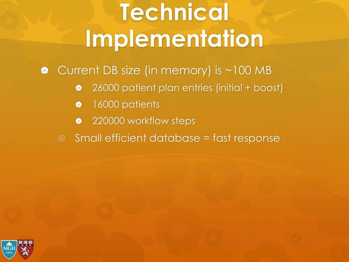 Technical Implementation