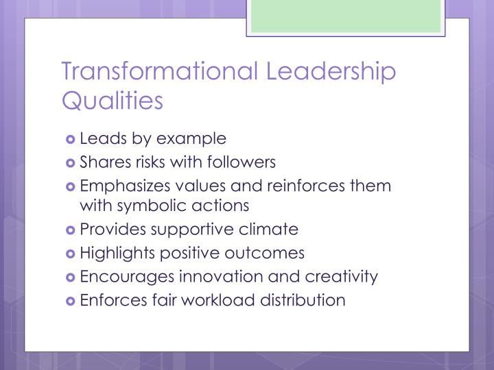 transformational leadership and innovation Fostering team innovation is increasingly an important leadership function however, the empirical evidence for the role of transformational leadership in engendering team innovation is scarce and mixed keywords: team innovation, transformational leadership, team climate.