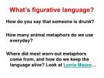 what s figurative language