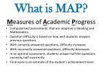 what is map