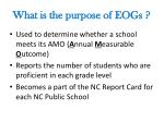 what is the purpose of eogs