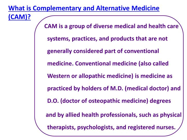 western vs alternative medicine the debate Western vs alternative medicine – which is the best for you imagine this, you've just had another visit to your doctor and been told yet again that your condition hasn't improved and may even be getting worse.