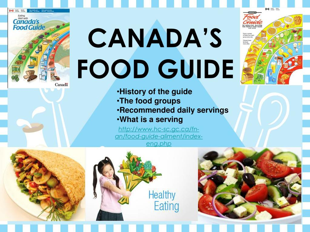 Canada S Food Guide N