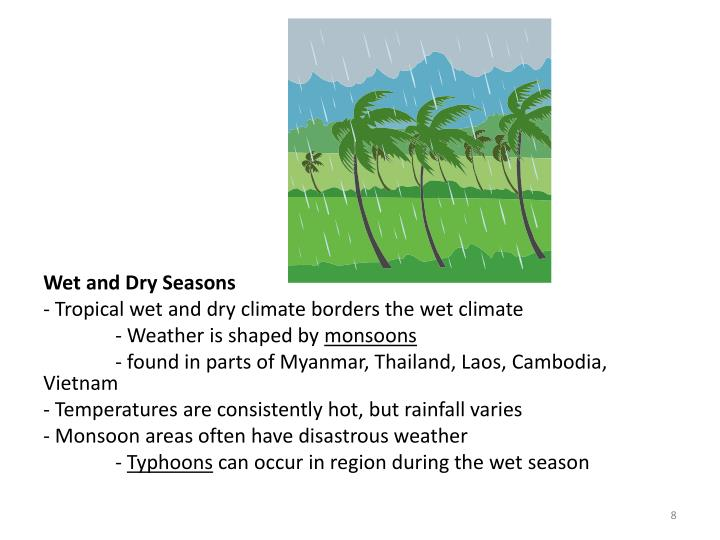 Wet and Dry Seasons