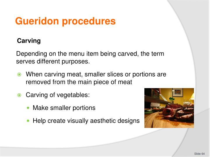 Ppt provide gueridon service powerpoint presentation