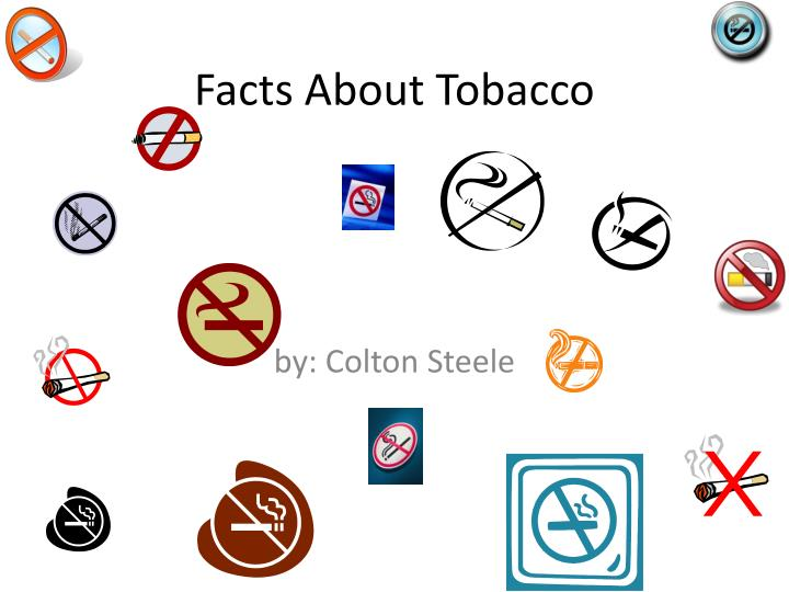 Facts about tobacco