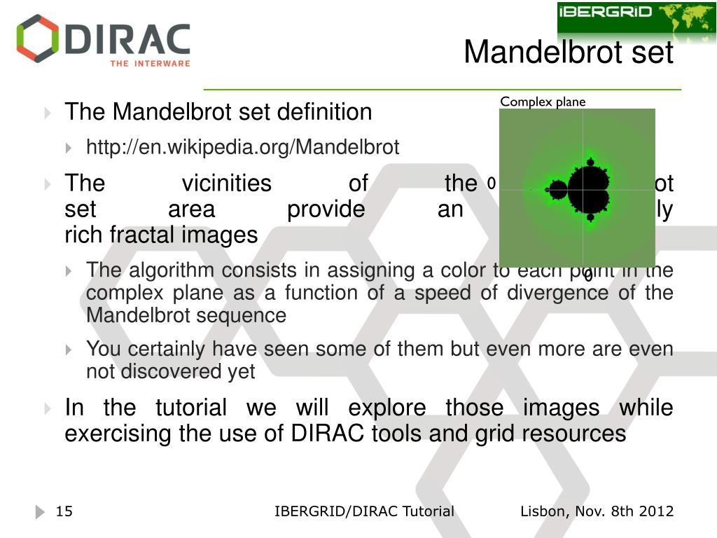 PPT - DIRAC Tutorial PowerPoint Presentation - ID:1551205
