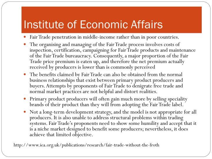 Institute of Economic Affairs