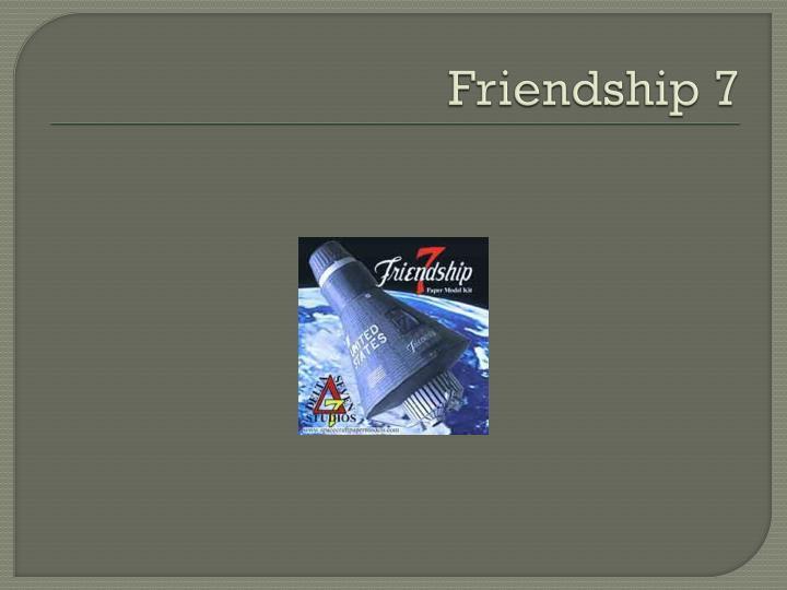Friendship 7