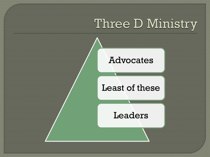 Three D Ministry