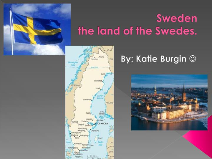 sweden the land of the swedes n.