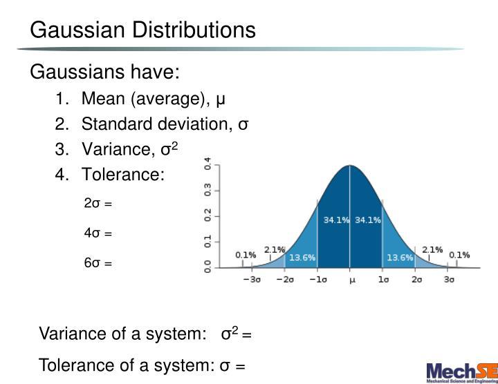Gaussian Distributions