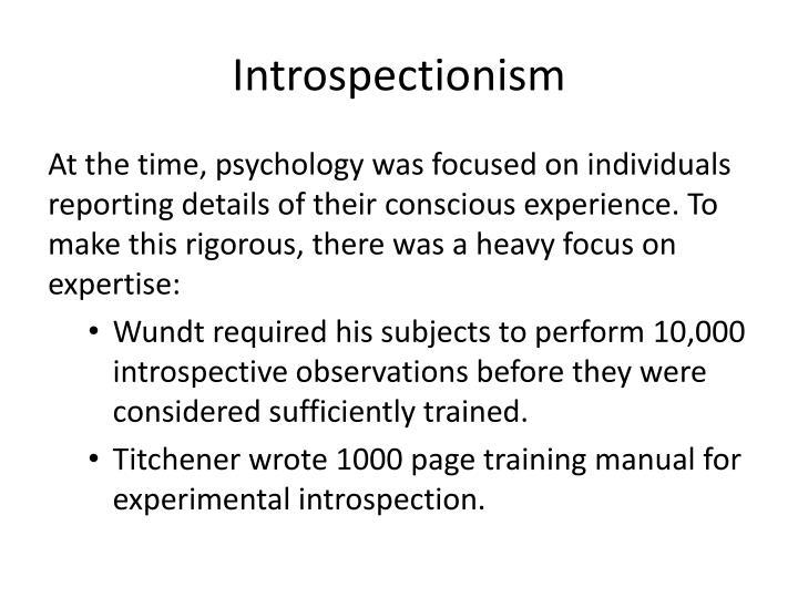 Introspectionism