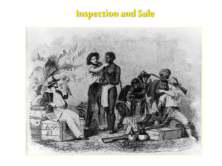 Inspection and Sale