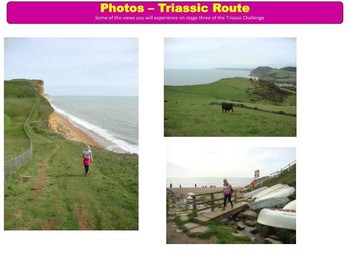 Photos – Triassic Route