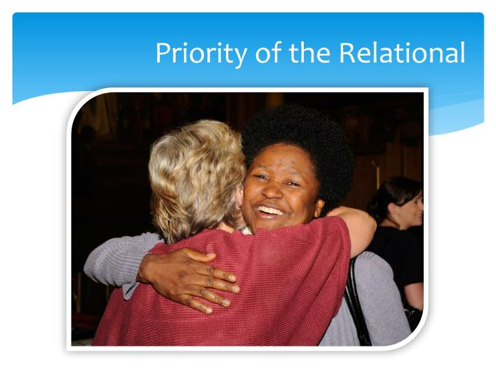 Priority of the Relational