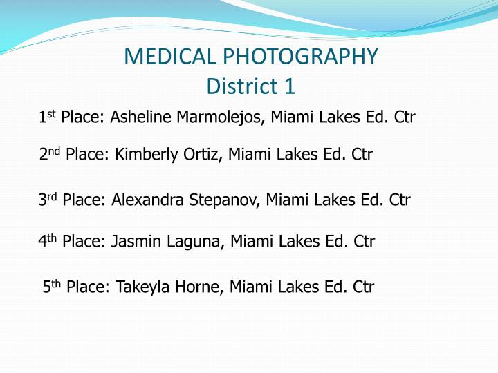 MEDICAL PHOTOGRAPHY
