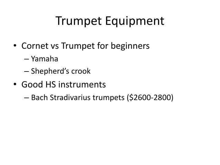 Trumpet Equipment