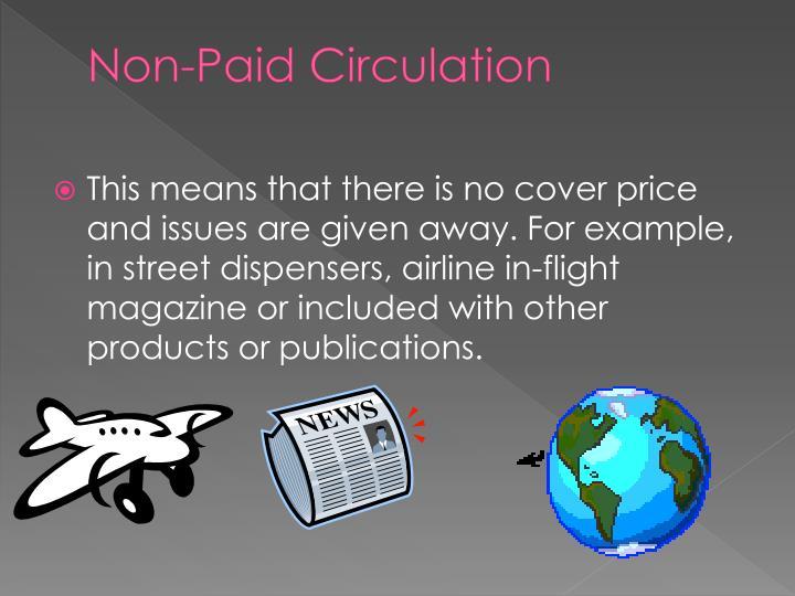 Non-Paid Circulation