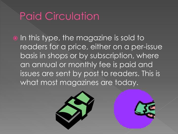 Paid Circulation