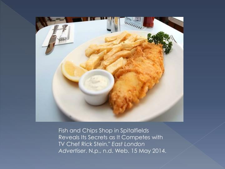 Fish and Chips Shop in