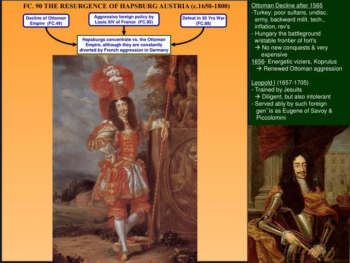 FC. 90 THE RESURGENCE OF HAPSBURG AUSTRIA (c.1650-1800)