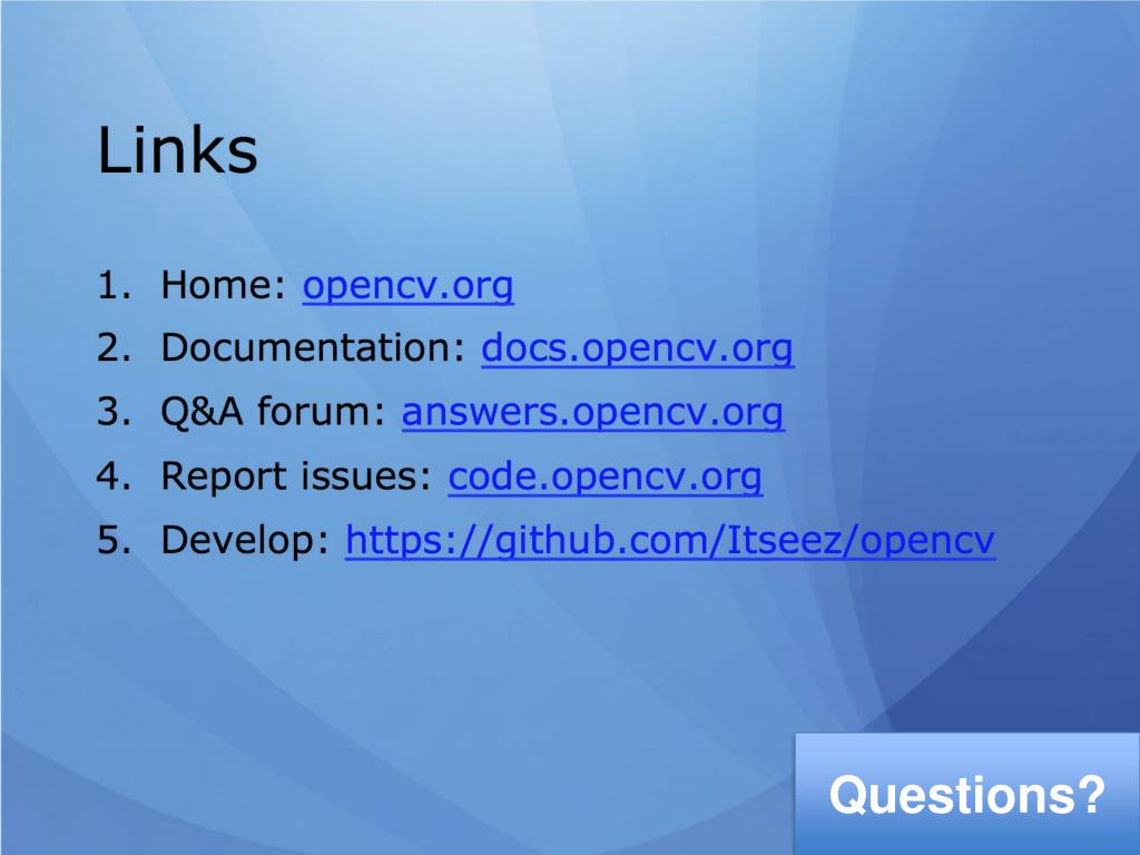 PPT - OpenCV 3 0 PowerPoint Presentation - ID:1552439