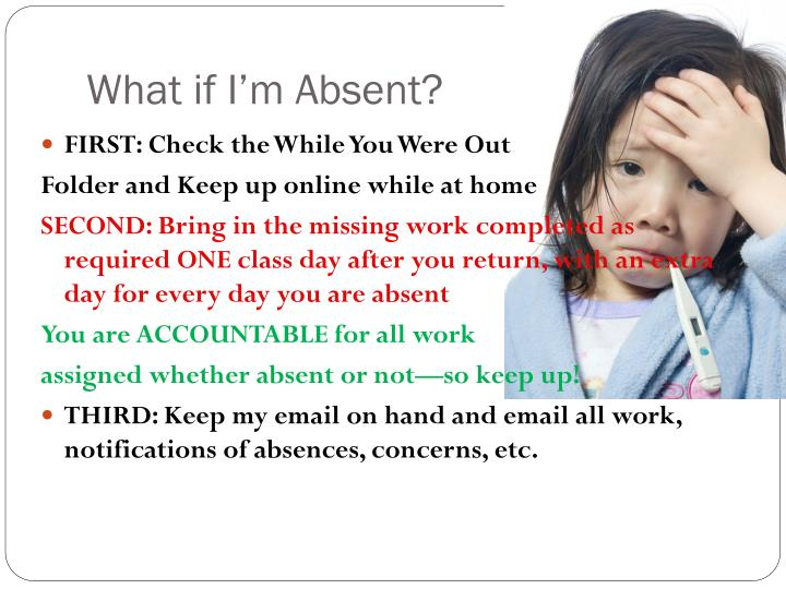 What if I'm Absent?