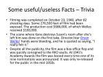 some useful useless facts trivia