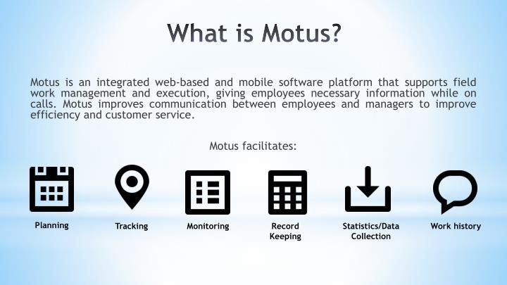 What is motus