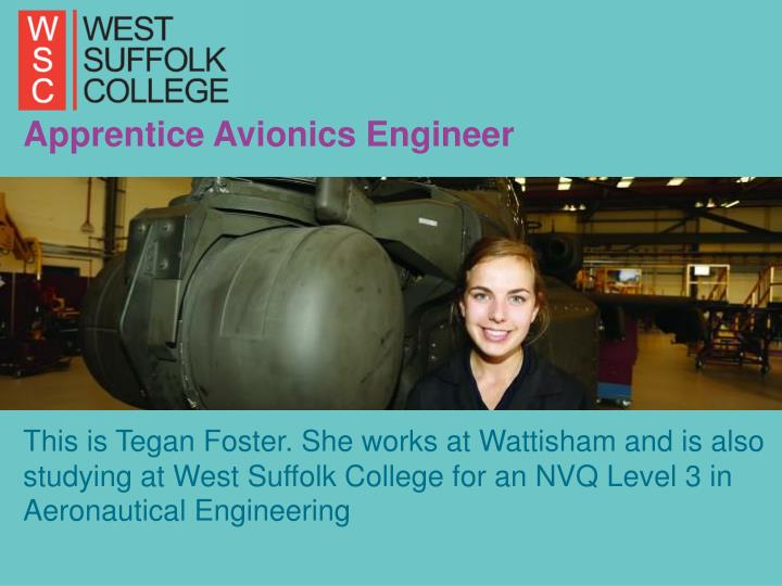 Apprentice Avionics Engineer