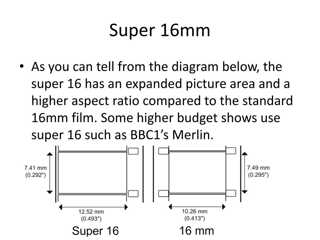 PPT - 16mm film PowerPoint Presentation - ID:1552673
