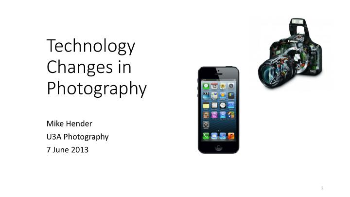 technology changes in photography n.