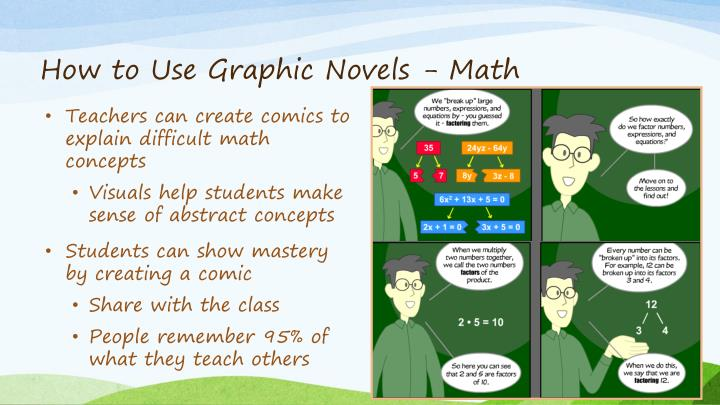 How to Use Graphic Novels - Math