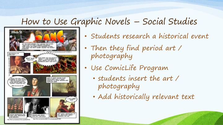 How to Use Graphic Novels – Social Studies