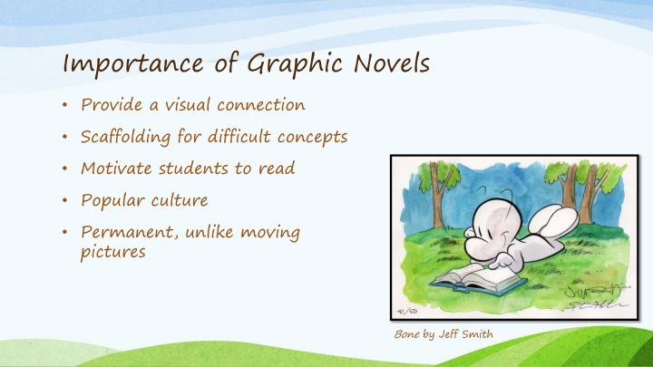 Importance of Graphic Novels