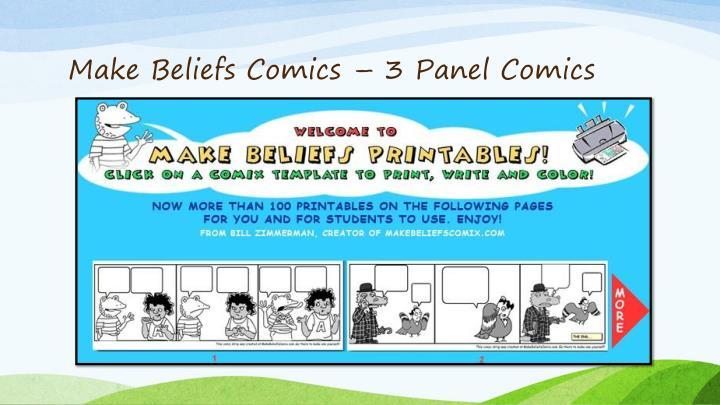Make Beliefs Comics – 3 Panel Comics