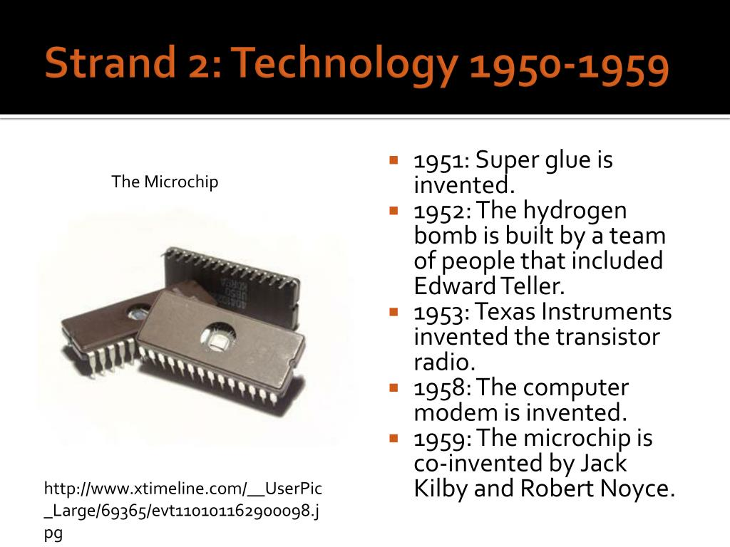 PPT - A Timeline of Technology PowerPoint Presentation - ID
