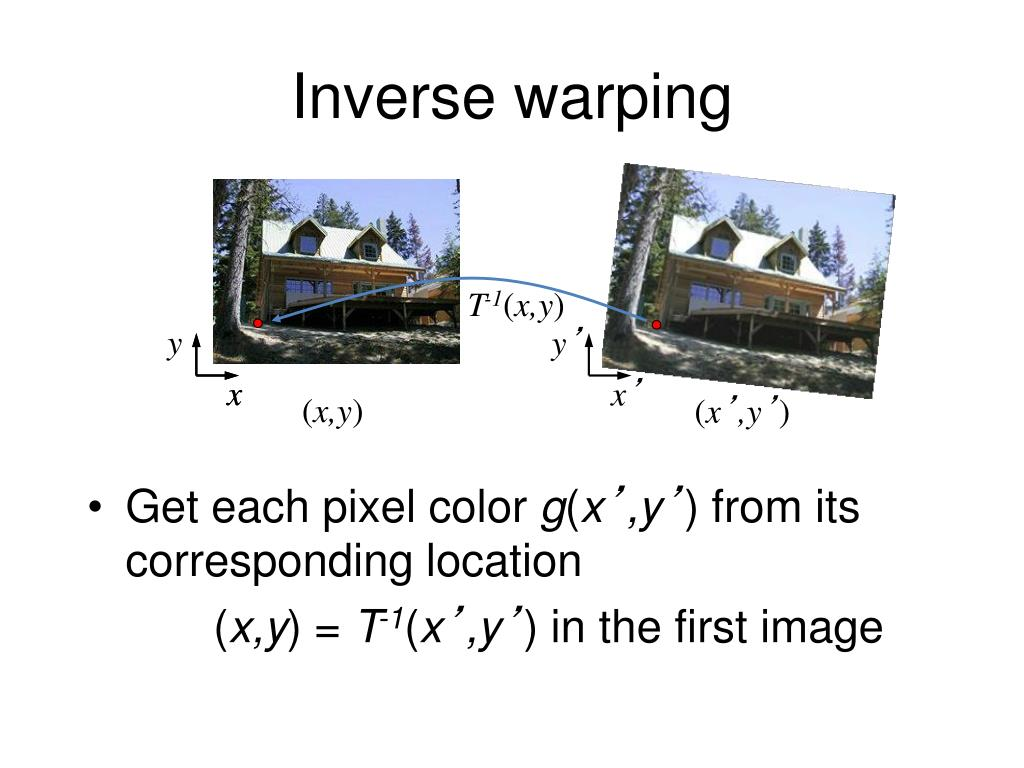PPT - Image Warping / Morphing PowerPoint Presentation - ID