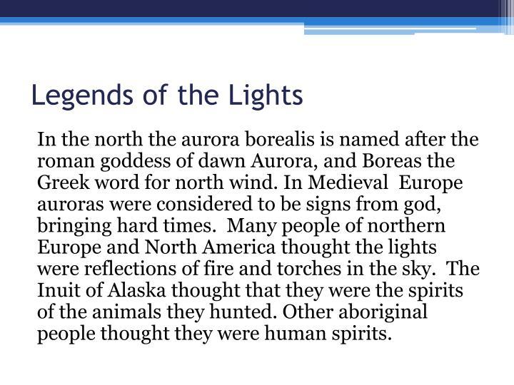 Legends of the Lights