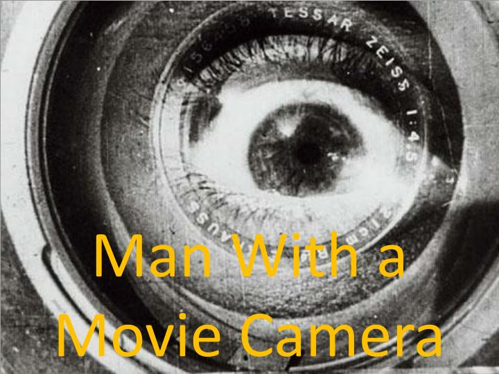 an analysis of man with a movie camera a cinematic experiment Man with a movie camera is famous for the range of cinematic techniques vertov invented, deployed or developed, such as double exposure, fast motion, slow motion, freeze frames, jump cuts, split screens, dutch angles, extreme close-ups, tracking shots, reversed footage, stop motion animations and self-reflexive visuals (at one point it.