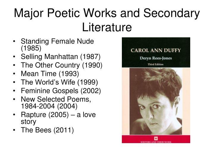 mrs lazarus carol ann duffy poem