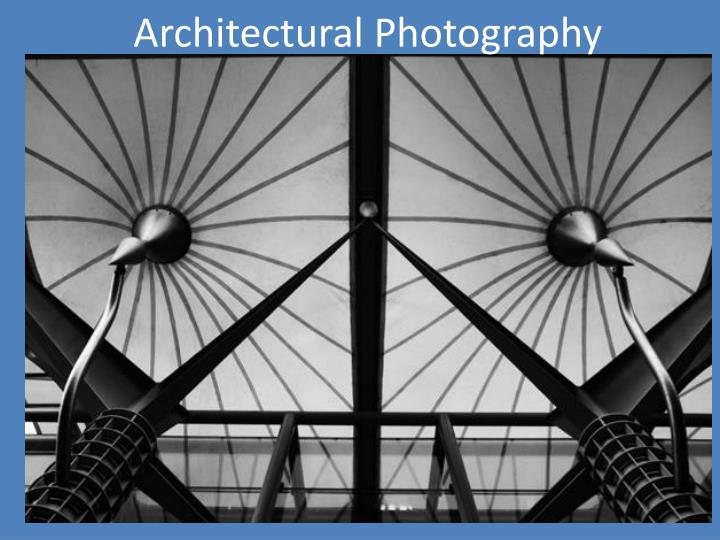 architectural photography n.
