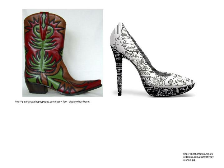http://glittersweatshop.typepad.com/sassy_feet_blog/cowboy-boots/