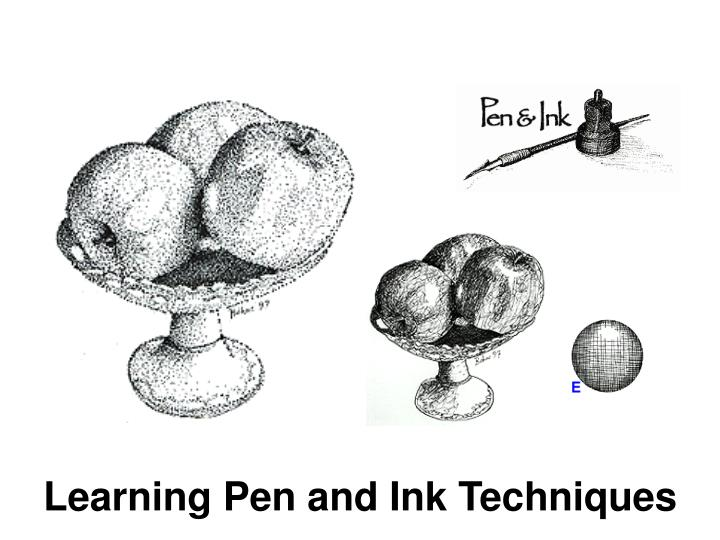Learning Pen and Ink Techniques