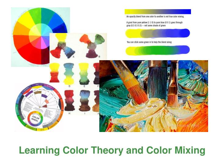 Learning Color Theory and Color Mixing